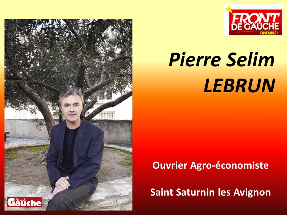 Ouvrier Agro-économiste Saint Saturnin les Avignon