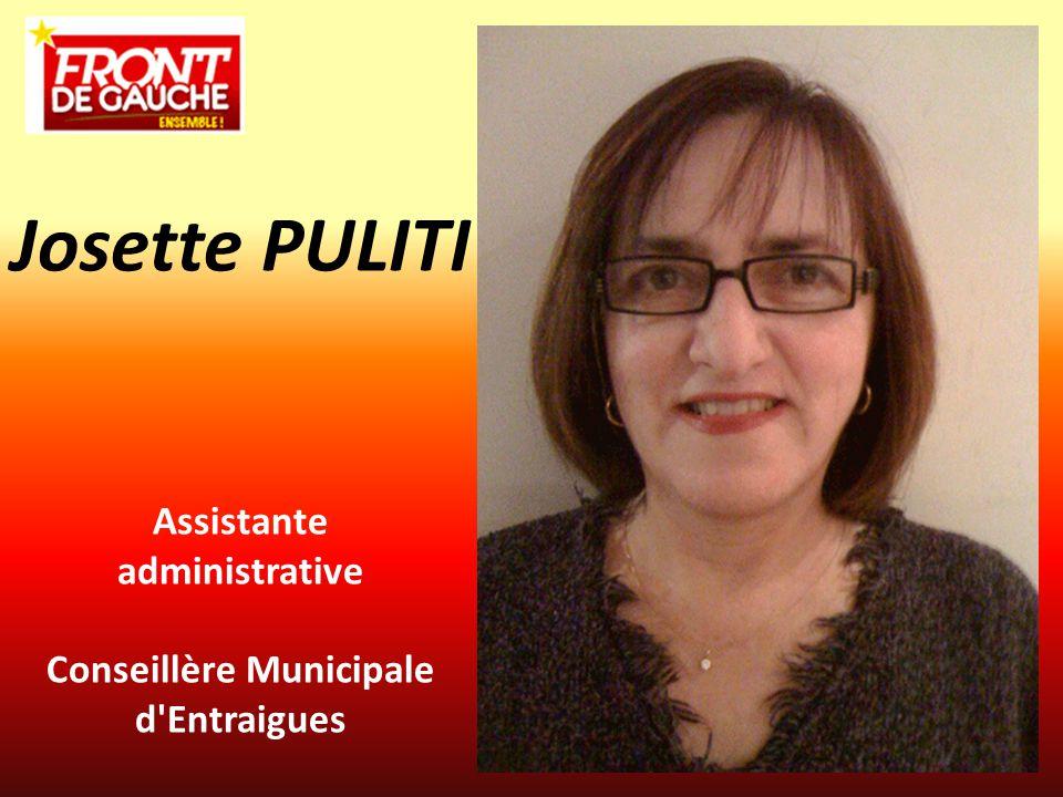 Assistante administrative Conseillère Municipale d Entraigues