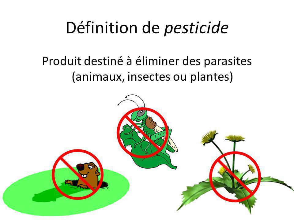 Définition de pesticide