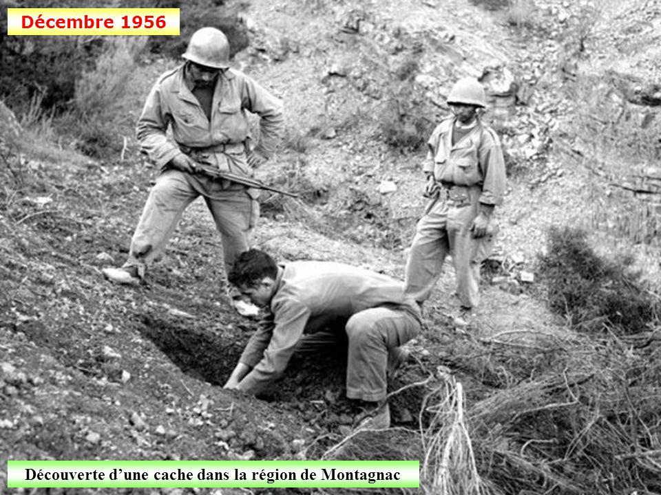 Découverte d'une cache dans la région de Montagnac