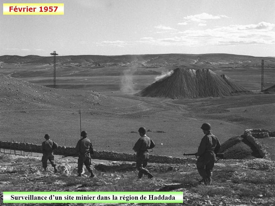 Surveillance d'un site minier dans la région de Haddada