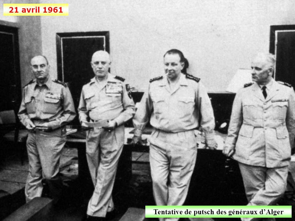 Tentative de putsch des généraux d'Alger