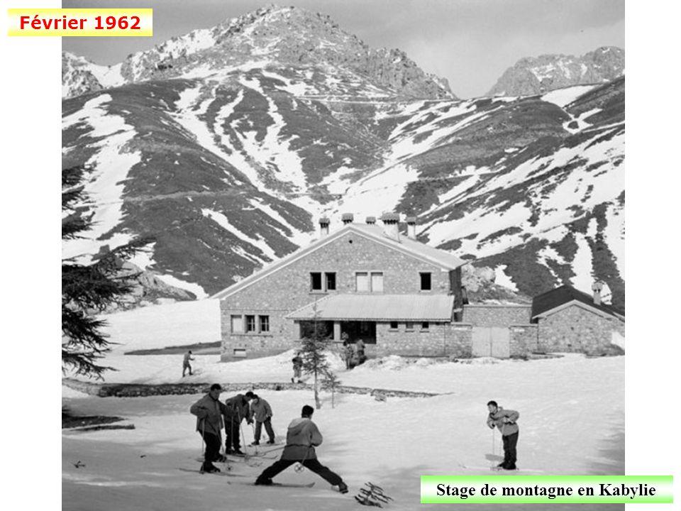 Stage de montagne en Kabylie