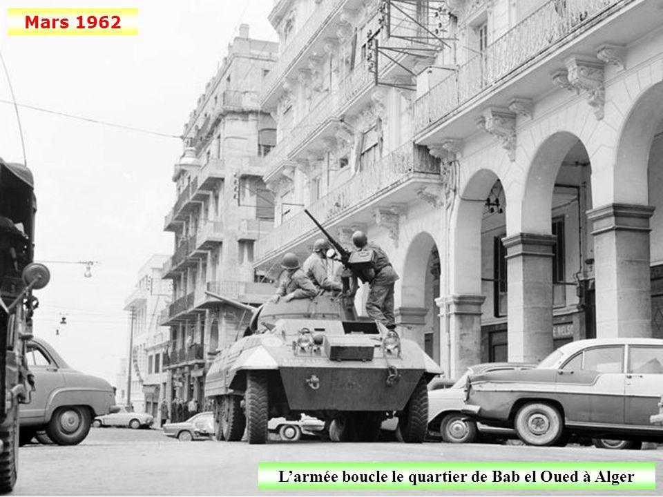 L'armée boucle le quartier de Bab el Oued à Alger