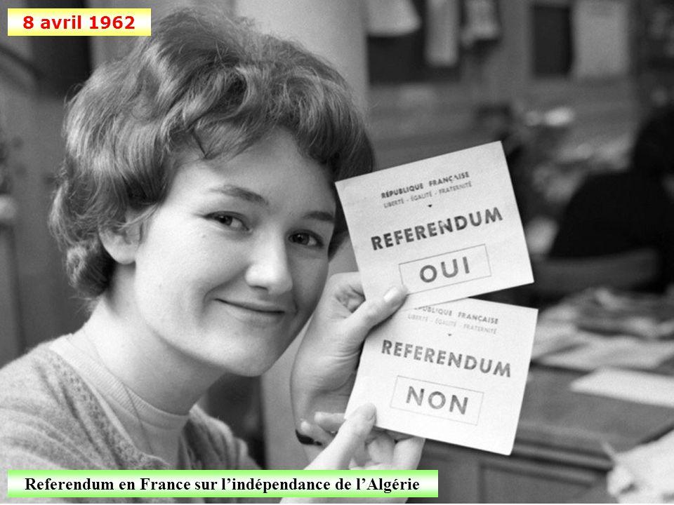 Referendum en France sur l'indépendance de l'Algérie