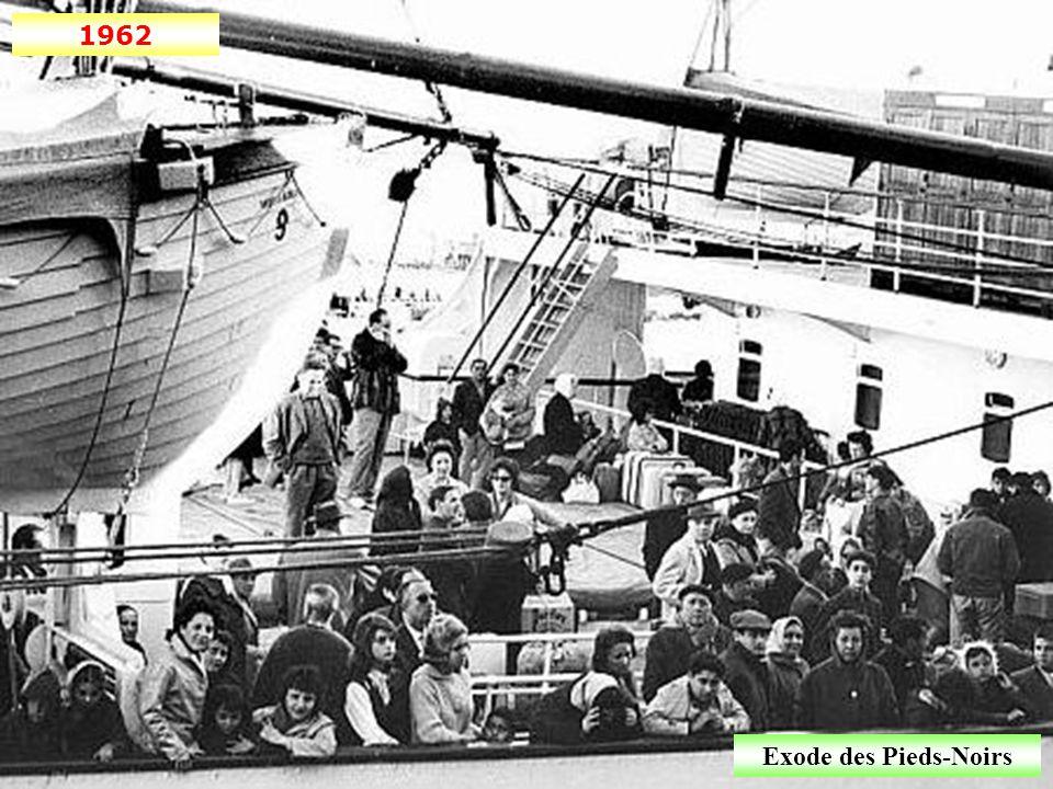 1962 Exode des Pieds-Noirs