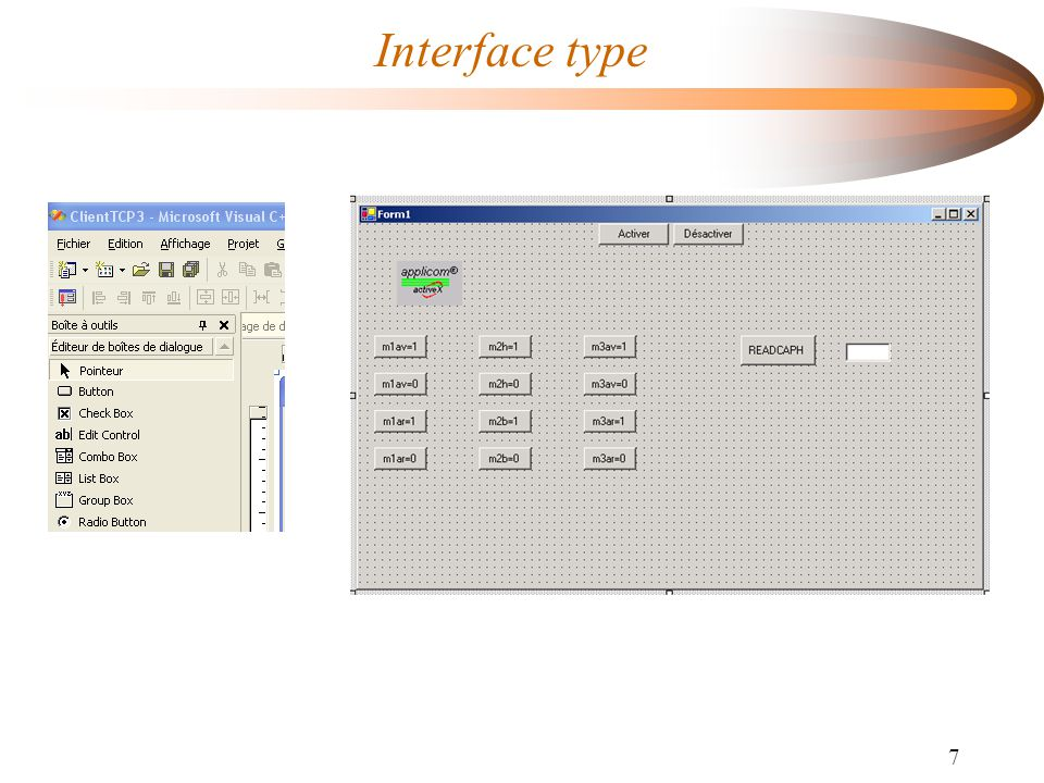 Interface type