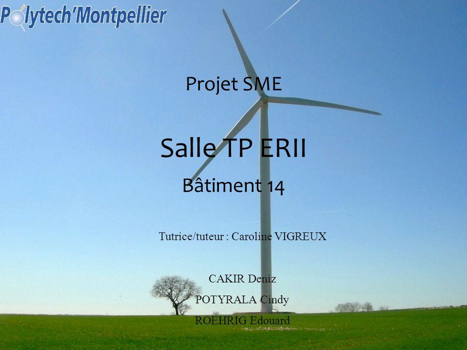 Projet SME Salle TP ERII Bâtiment 14