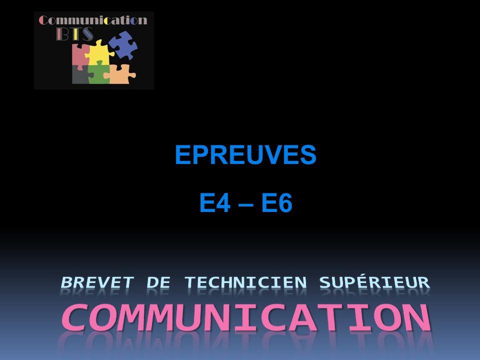 Brevet de technicien supérieur COMMUNICATION