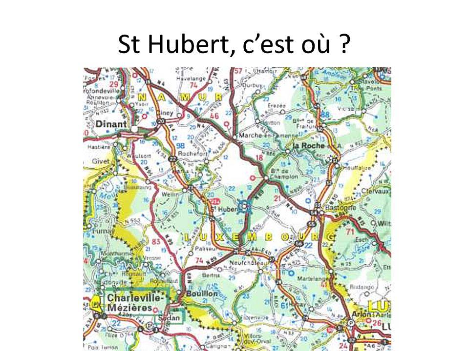 St Hubert, c'est où