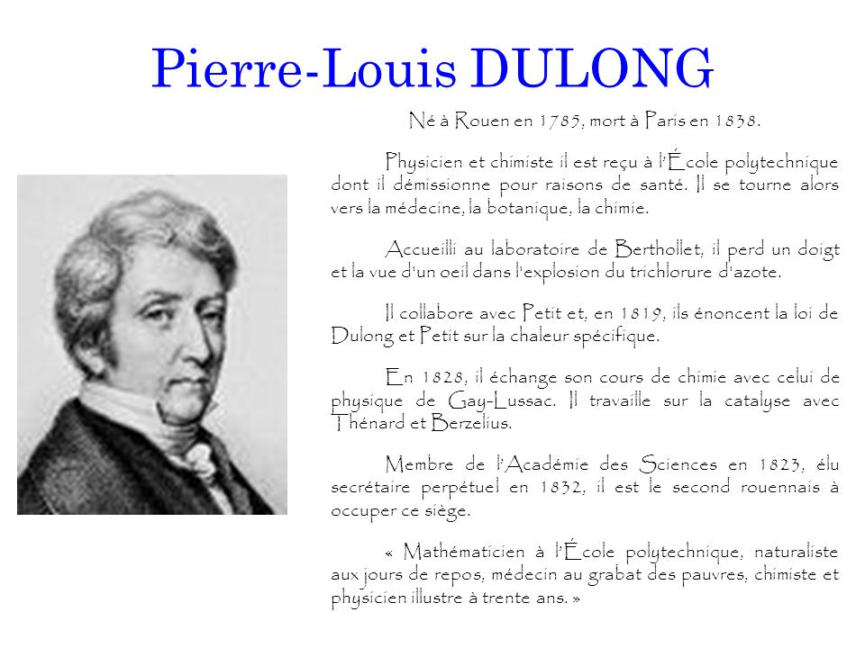 Pierre-Louis DULONG