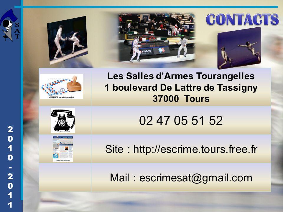 Les Salles d'Armes Tourangelles 1 boulevard De Lattre de Tassigny