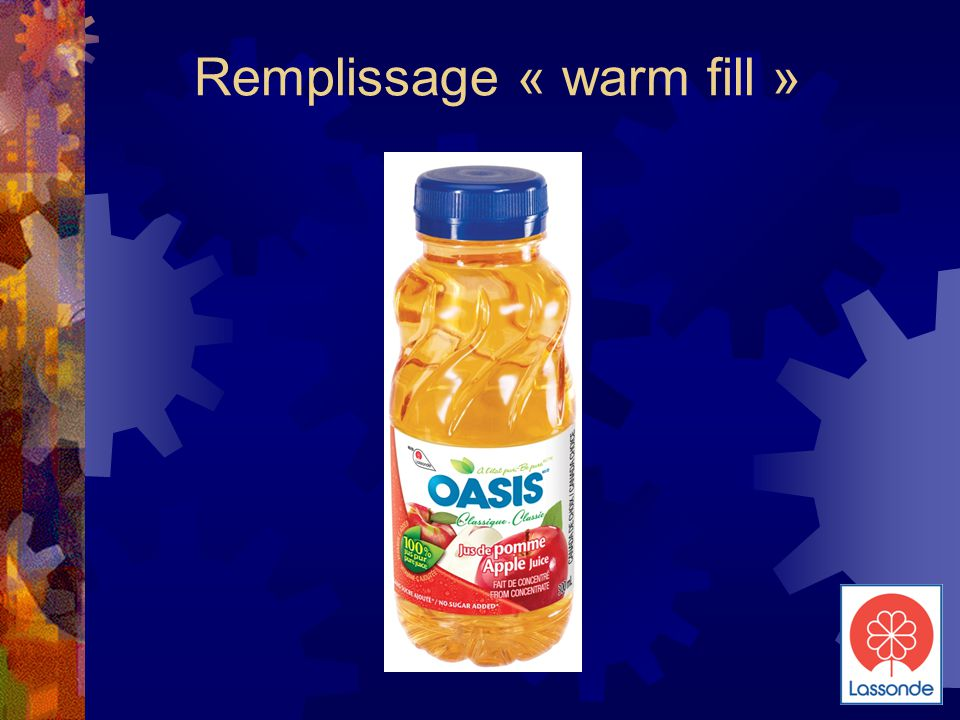 Remplissage « warm fill »