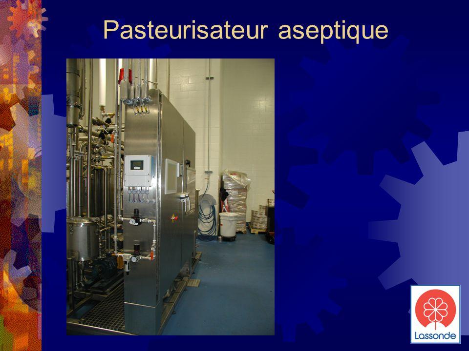 Pasteurisateur aseptique