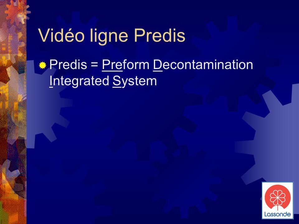 Vidéo ligne Predis Predis = Preform Decontamination Integrated System