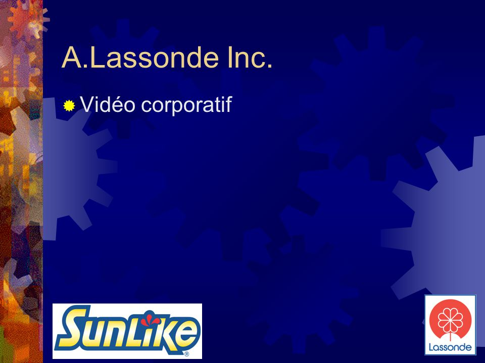 A.Lassonde Inc. Vidéo corporatif