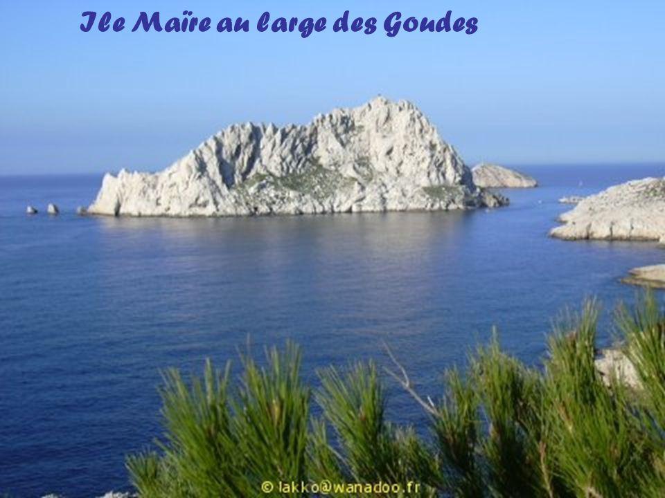 Ile Maïre au large des Goudes