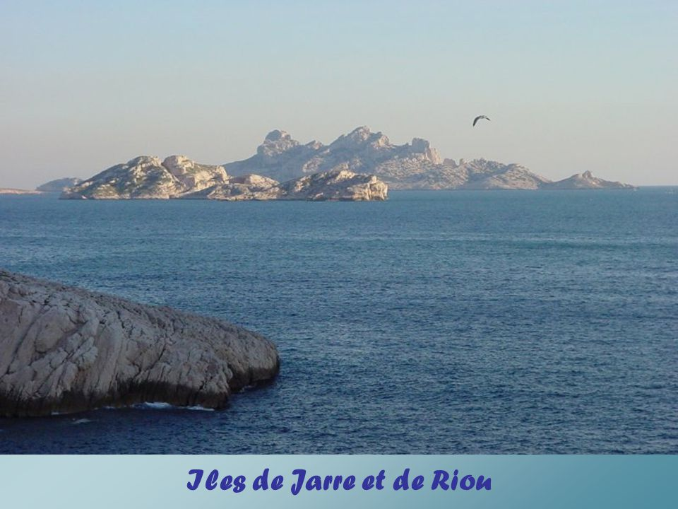 Iles de Jarre et de Riou