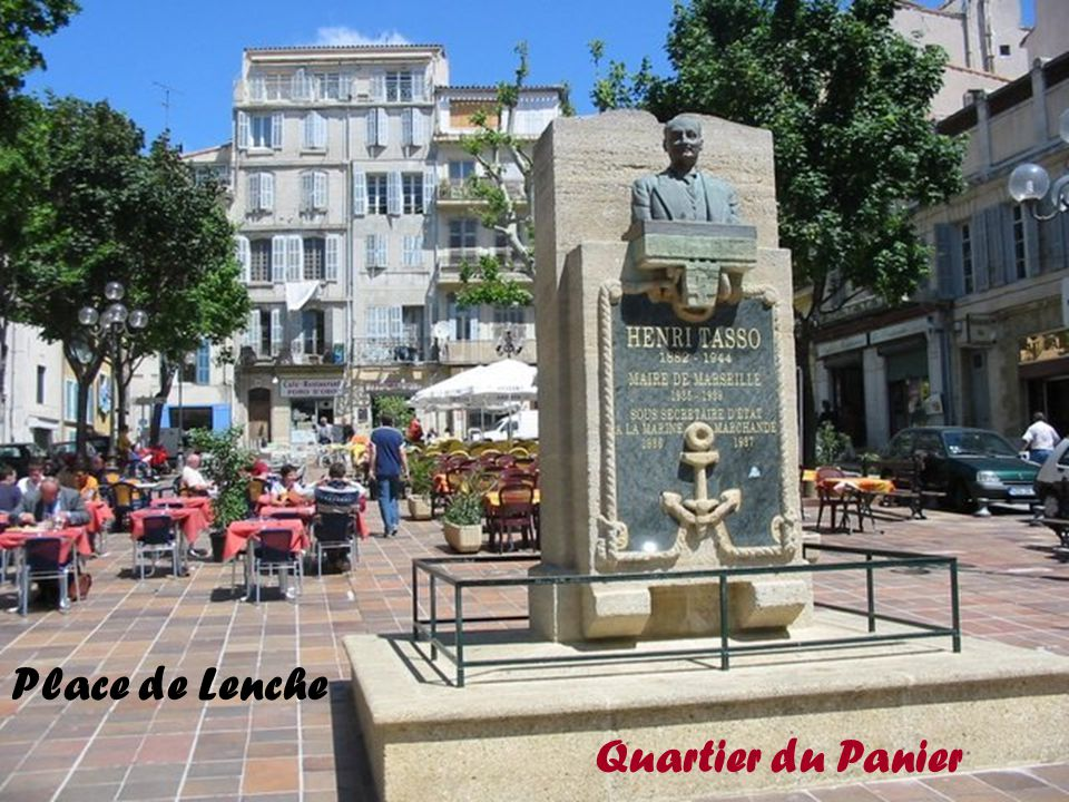 Place de Lenche Quartier du Panier