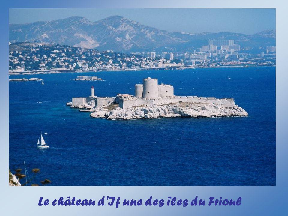 Le château d If une des îles du Frioul