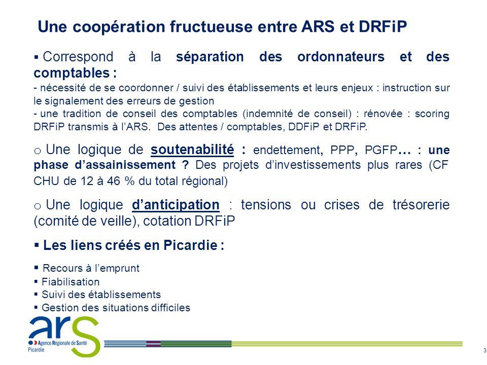 Une coopération fructueuse entre ARS et DRFiP