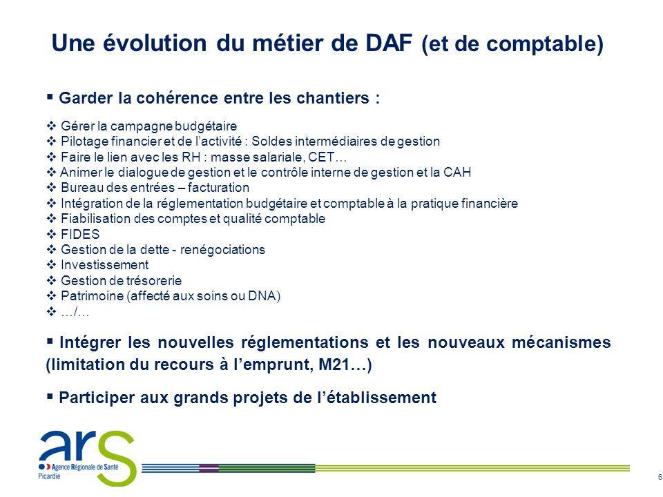 Une évolution du métier de DAF (et de comptable)