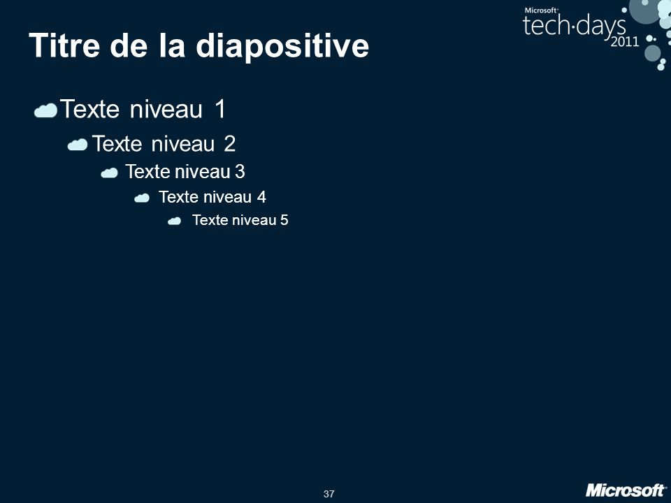 Titre de la diapositive