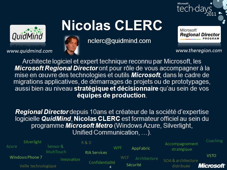 Nicolas CLERC nclerc@quidmind.com