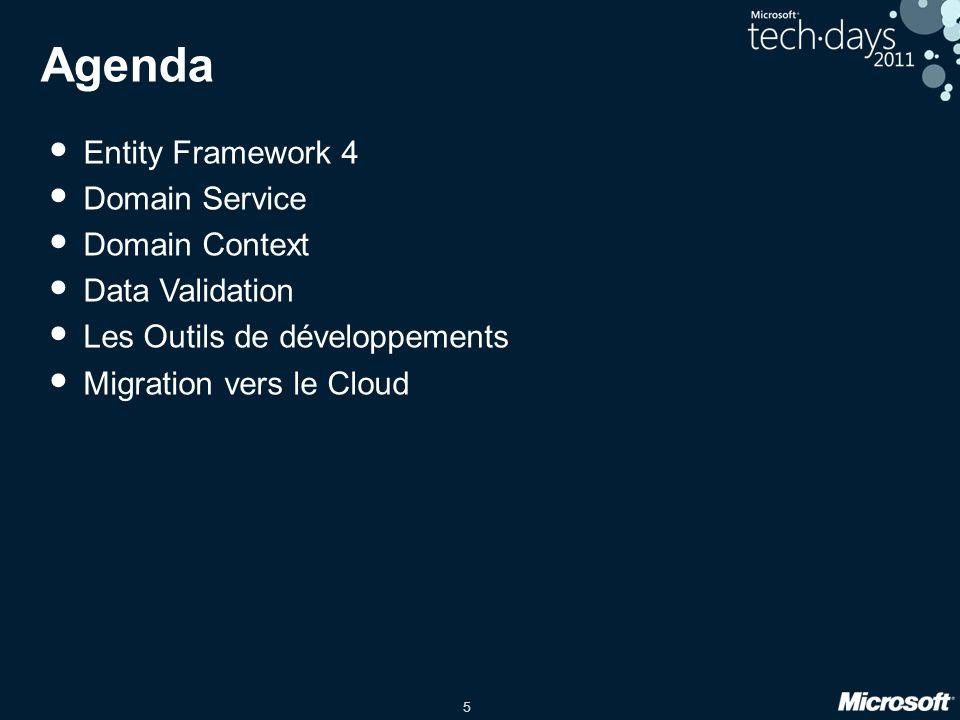 Agenda Entity Framework 4 Domain Service Domain Context