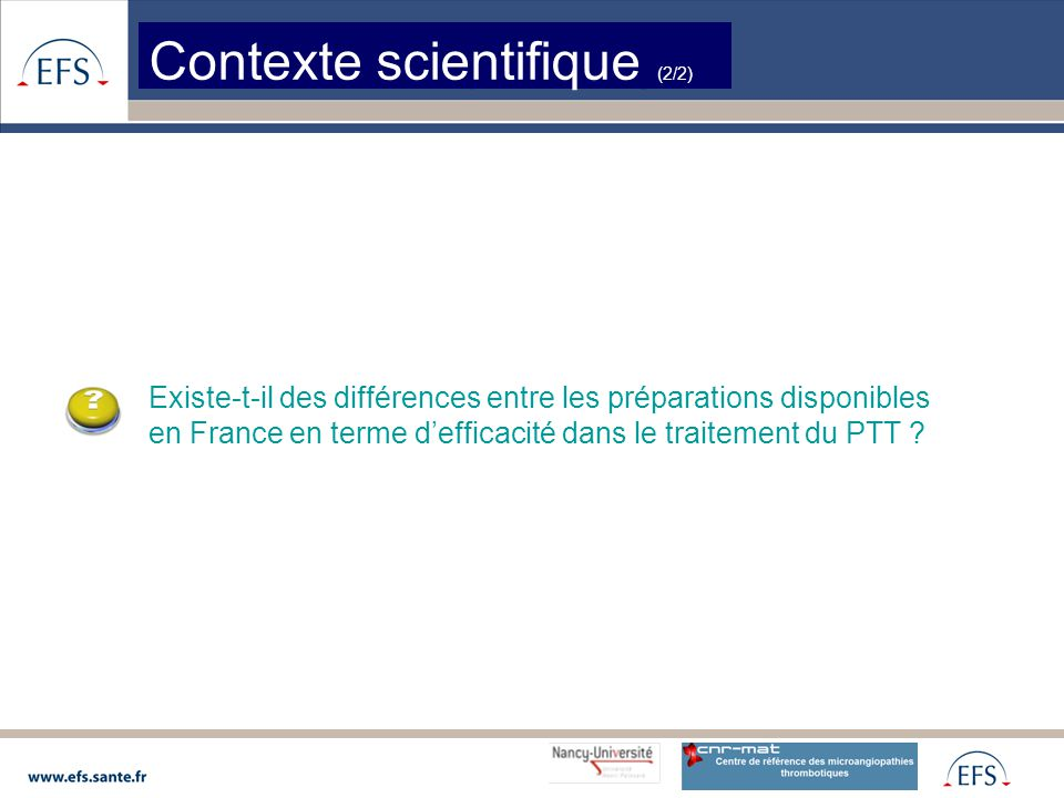 Contexte scientifique (2/2)