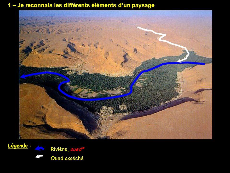 1 – Je reconnais les différents éléments d'un paysage