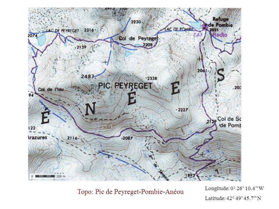 Topo: Pic de Peyreget-Pombie-Anéou