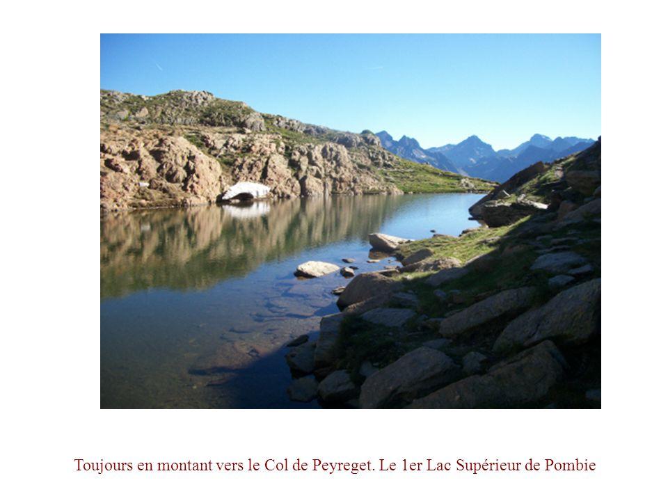 Toujours en montant vers le Col de Peyreget