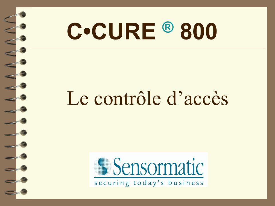 C•CURE ® 800 Le contrôle d'accès