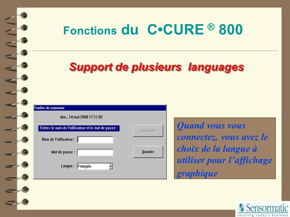 Support de plusieurs languages