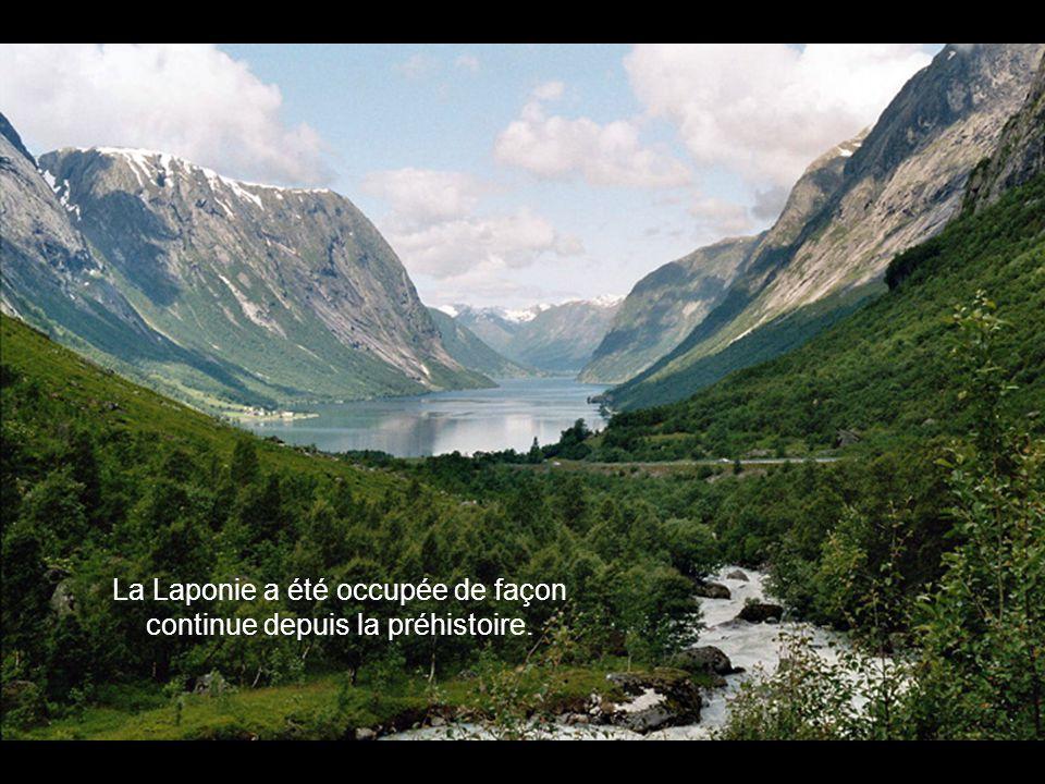 La Laponie a été occupée de façon continue depuis la préhistoire.