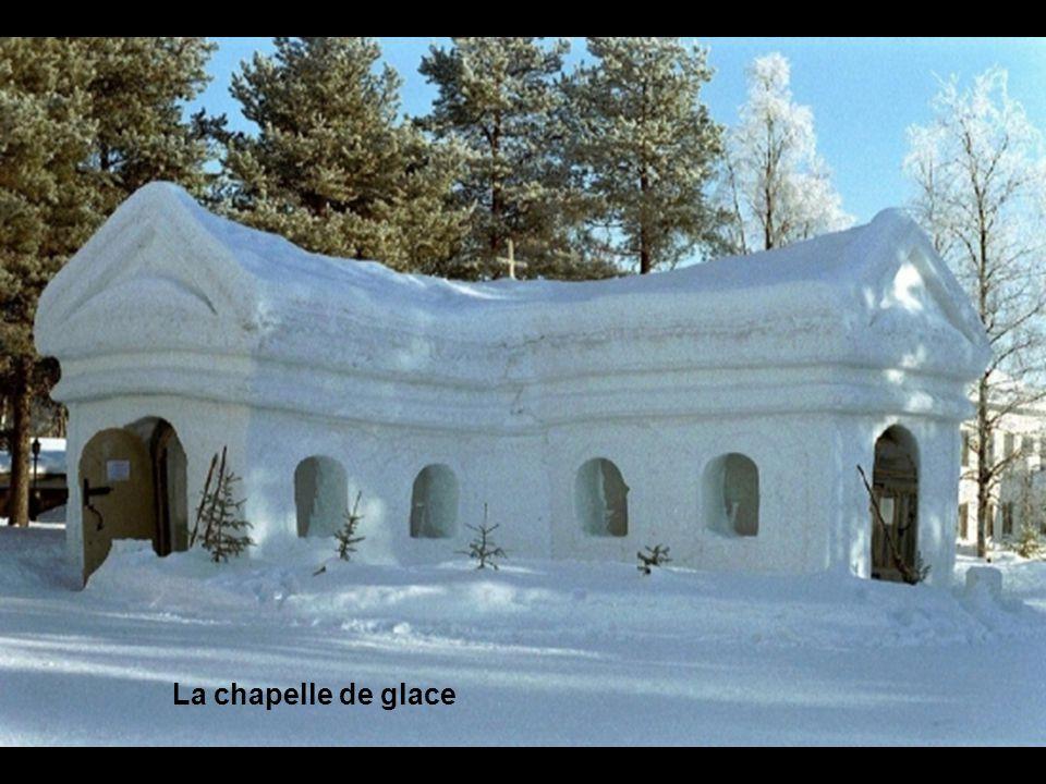 La chapelle de glace