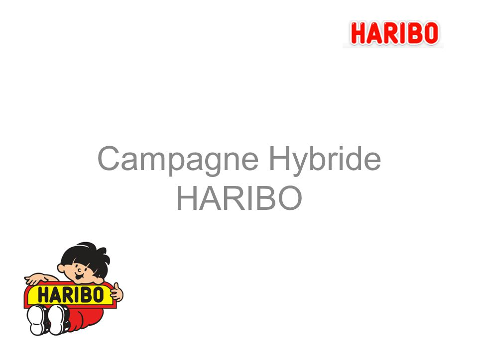 Campagne Hybride HARIBO