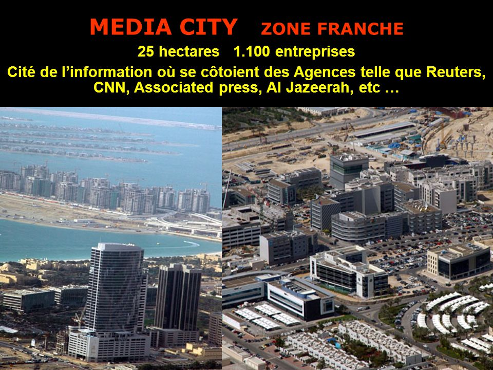 MEDIA CITY ZONE FRANCHE