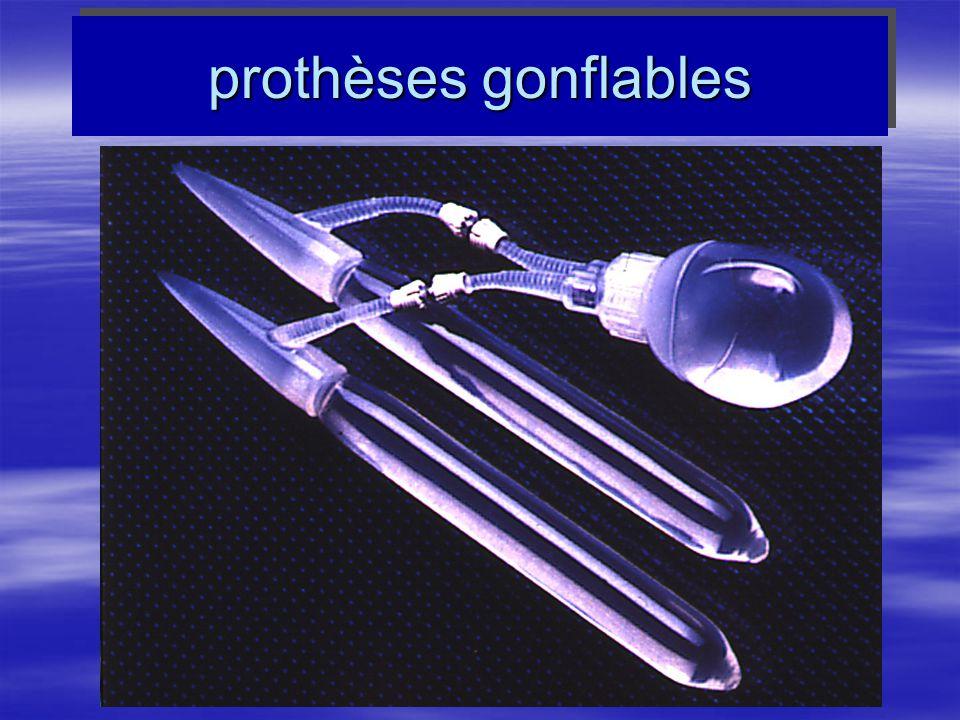 prothèses gonflables