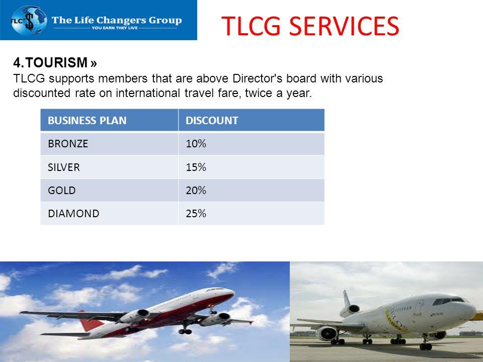 TLCG SERVICES 4.TOURISM »