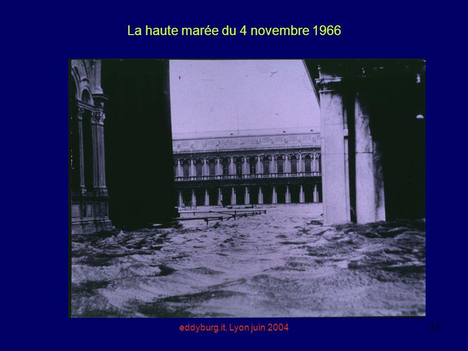 La haute marée du 4 novembre 1966