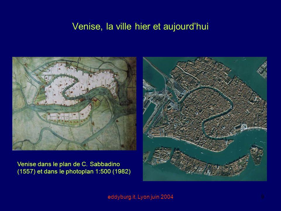 Venise, la ville hier et aujourd'hui