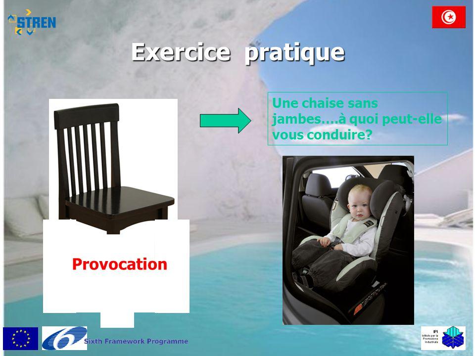 Exercice pratique Provocation