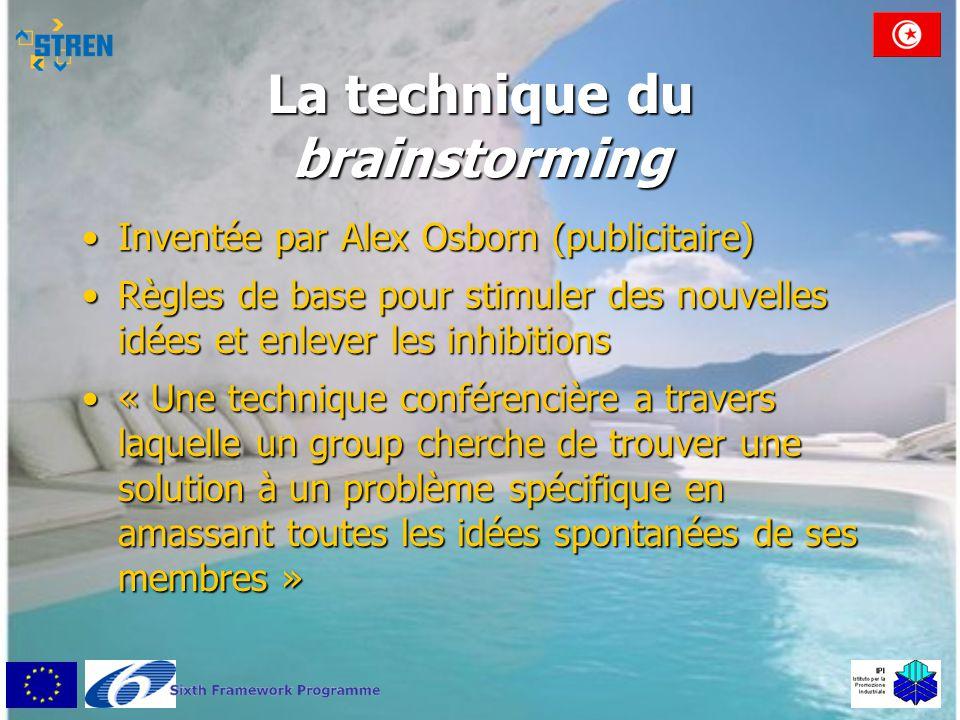 La technique du brainstorming