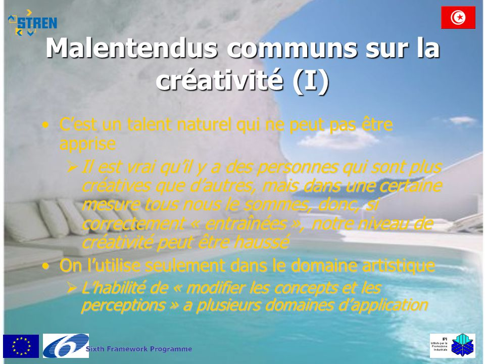 Malentendus communs sur la créativité (I)
