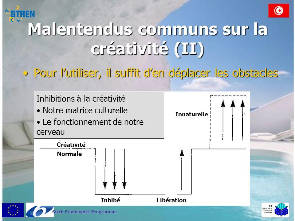 Malentendus communs sur la créativité (II)
