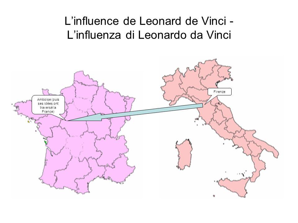 L'influence de Leonard de Vinci - L'influenza di Leonardo da Vinci