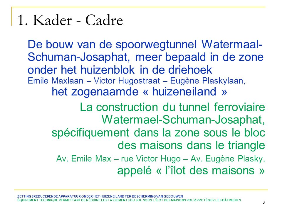 1. Kader - Cadre