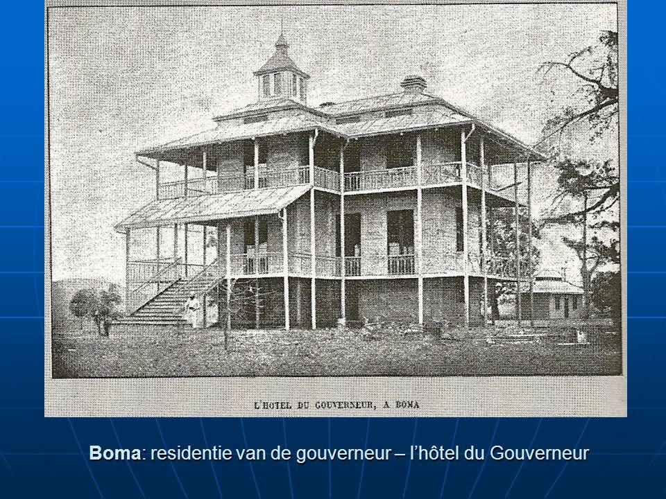 Boma: residentie van de gouverneur – l'hôtel du Gouverneur